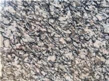 Spray White Granite Slabs,Tiles