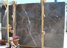 Olive Maron Marble Slabs & Tiles, Brown Polished Marble Floor Tiles, Wall Tiles