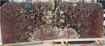 Rosso Onyx Slabs & Tiles, Rojo Vulkano Onyx Slabs & Tiles