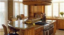Beige Kitchen Top, Countertop, Granite Kitchen Top