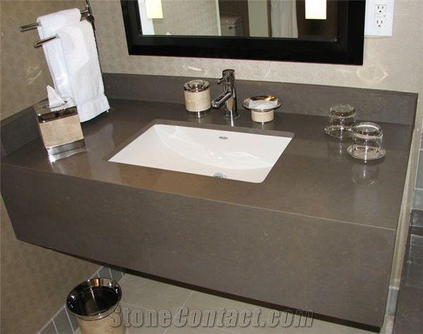 Bst Quartz Stone Pre Fabricated Tops Custom Bathroom Vanity