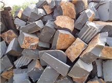 Black Basalt Cobble Stone, Black Basalt Pavers