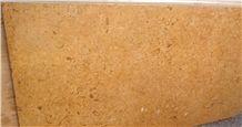 Fossil Gold Limestone, Jaisalmer Fossil Gold Limestone Tiles & Slabs