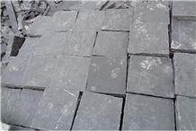 Owl Black Limestone,Kota Black Limestone, Black Cubes Stone & Pavers