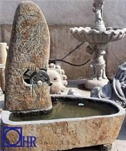 Hand Shaped Granite Fountain.G682 Water Fountains Indoor