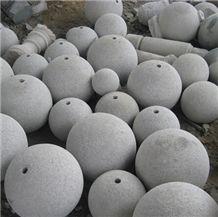 G603 Granite Ball Parking Stone