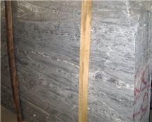 Silver Sea Wave Marble Slab,Italy Gray Marble Slab