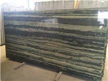 Verde Bamboo Quartzite Slab, Brazil Green Quartzite