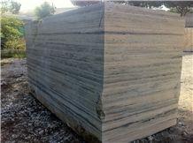 Travertino Silver Blocks, Grey Travertine Blocks
