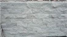China White Split Marble Mushroom Stone