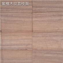 Sichuan Bush-Hammered Red Wooden Sandstone