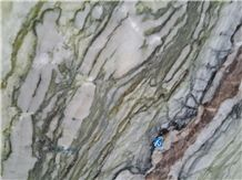 Wizard Oz/Green Marble/Landscape Green Marble Slabs