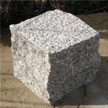 G341 Granite Tiles, China Grey Granite Cube Stone