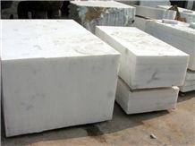 White Marble Jade, China White Marble Block