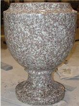 High Quality Monumental Vases, Granite Vases