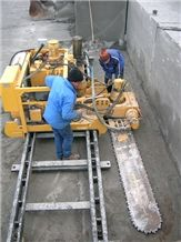 Korfmann Cut Machinery - Chain Saw Quarry Machines