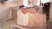 Hard Pink Marble Blocks