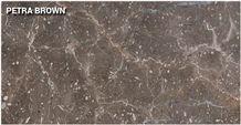 Petra Brown Marble Tiles & Slabs, Brown Marble Oman