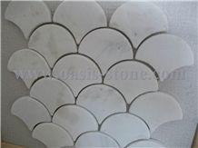 China White Sandstone Mosaic