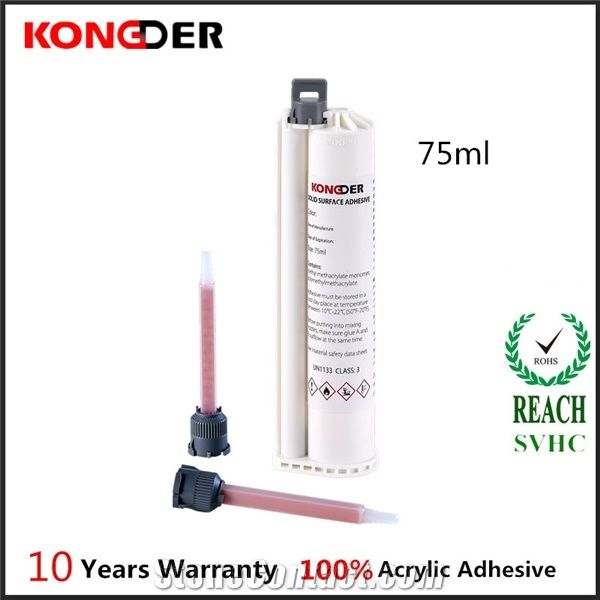 75ml Solid Surface Adhesive For Corian With Gun