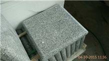 Fargo Grey Granite G603 Pillar Caps, Chinese Grey Granite Polished Pier Caps
