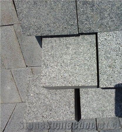 G654 Dark Grey Granite Cube Stoneg654 Black Stone For Floor