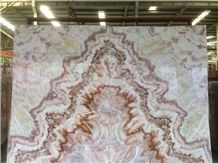 China Phoenix Onyx Slabs & Tiles Cut for Wall Decoration and Flooring & Vanity Tops Factory Wholesale