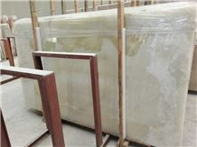Chinese Wholesale Pure White Onyx Slabs&Tiles