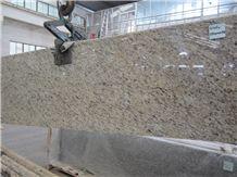 Giallo Ornamental Granite Slabs Brazil Nature Stone Kitchen Countertop Vanity Top 2/3cm Thickness