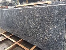 Silver Pearl Granite Tiles&Slabs,Steel Gray Cut to Size Countertops Polished Bullnose and Flat Worktop