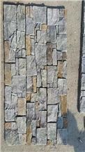Yellow/Grey Different Panel Panel Multicolor Stone Slate Cultured Stone Flooring and Wall Covering Culture Stone Natural Surface Hammered China Wholesale
