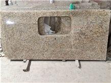 Giallo Ornamental Granite Kitchen Countertops,Vanity Tops