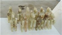 Onyx Horse Artifacts in Stock (5 Inch)