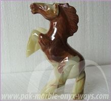 Onyx Horse Artifacts in Stock (8 Inch)