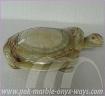 Onyx Turtle Artifacts in Stock (16 Inch)