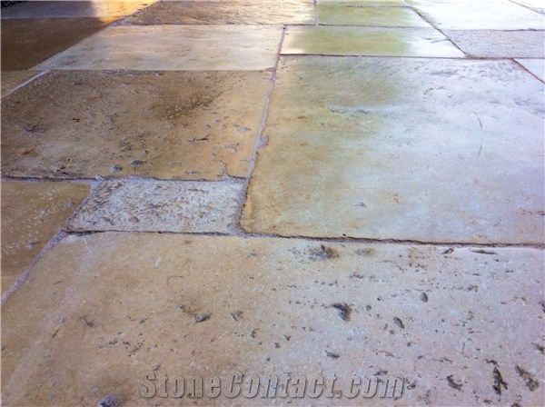Antique French Stone Floors