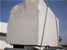 Bianco Super Pb Blocks, Sivec White Pb Marble