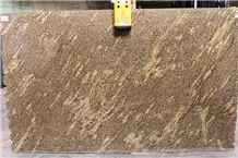 Giallo California Slabs & Tiles, Juparana California Granite Slabs & Tiles