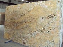Imperial Gold Granite Tiles & Slabs, Beige India Granite Slabs