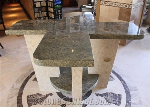 Seafoam Green Granite Congra G8 Table From United States