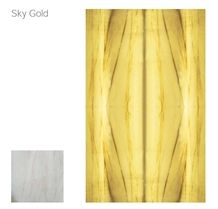Sky Gold Translucent Wall Panels