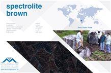 Spectrolite Brown Angola - Brown Antique Granite