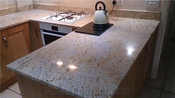 Ivory White Granite Kitchen Countertops From United