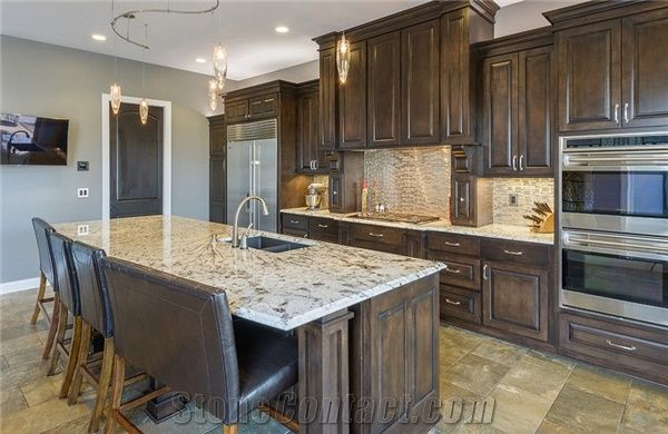 Arctic Cream Granite Kitchen Countertop From United States