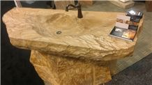 River Sink- Sandalwood Stone