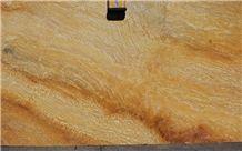 Yellow Bamboo Quartzite Slabs