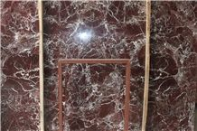 Rosso Levanto Marble Slab, Turkey Red Marble
