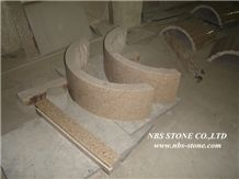 Beige Marble Honeycomb Panel for Columns