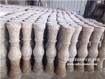 Golden Grain Granite Balustrade & Railings,China Yellow Granite