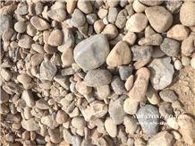 Pebble Stone,River Stone,Yellow Granite Pebble Stone